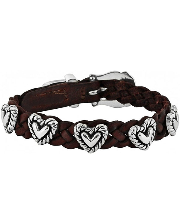 Brighton Style 07475 Roped Heart Braid Bandit