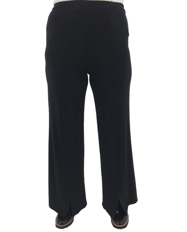 Tribal 3341O-925 Wide Leg Pants With Slits Front View