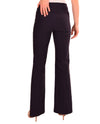 Back of Raffinalla P412-70 Boot Cut Pull On Pants in navy with tummy control panel to keep you slim