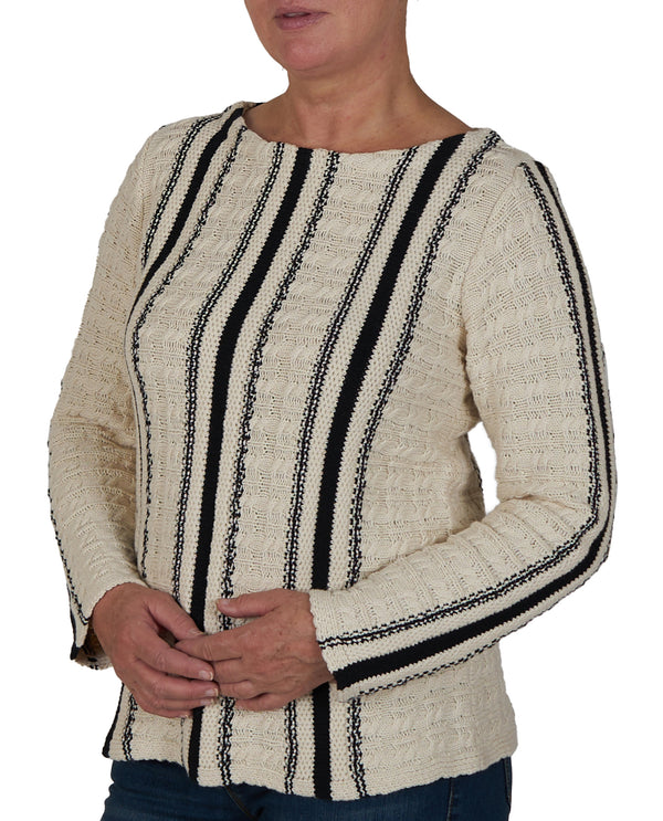 Women's Size Long Sleeve Novelty Sweater