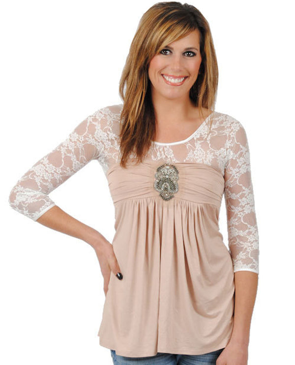 Sleevey Wonders S30102 Lace 3/4 Sleeve