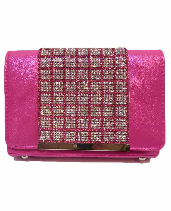 Stone Clutch With Sparkles