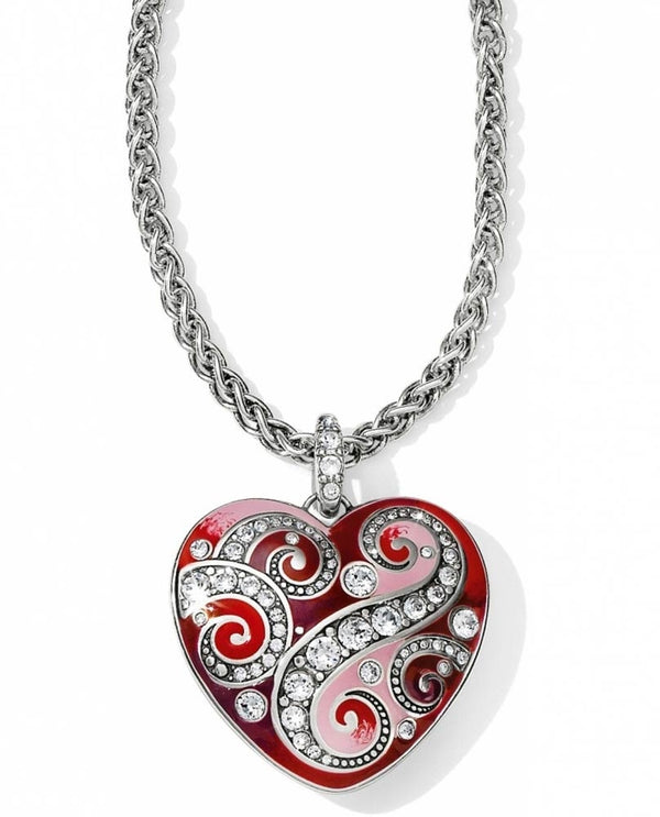 Brighton JL4943 Bella Love Heart Necklace