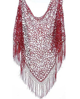 Soulmates C302 Beaded Shawl