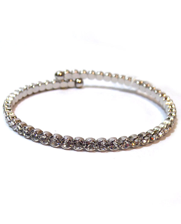 Prongless Medium Crystal Bracelet