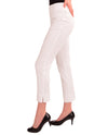 Renuar R1542 White Skinny Ankle Pant be comfortable in these stylish stretch ankle pants