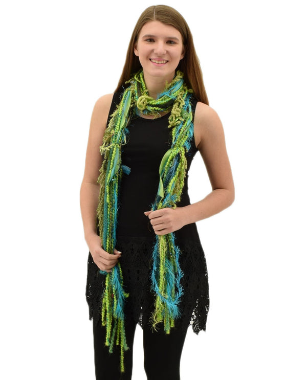 Scarves Of Westwood Yarn-Ribbon Scarf