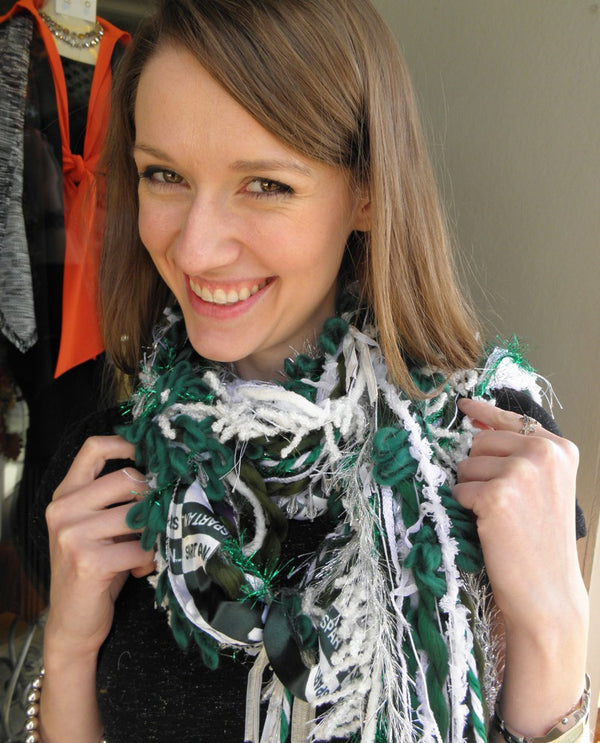 Michigan State University Yarny Scarf