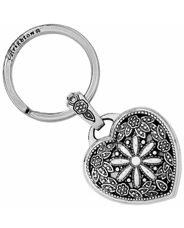 Brighton E12192 Floral Heart Key Fob