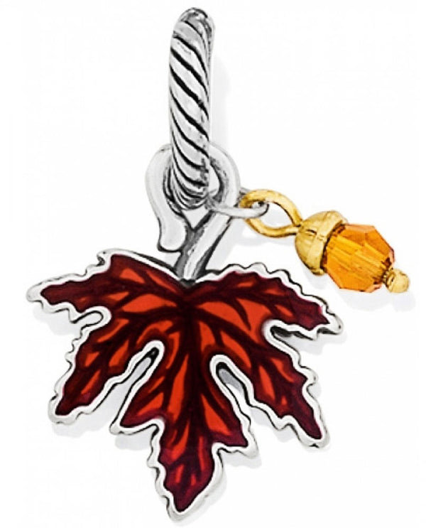 Brighton J95542 Maple Leaf Charm