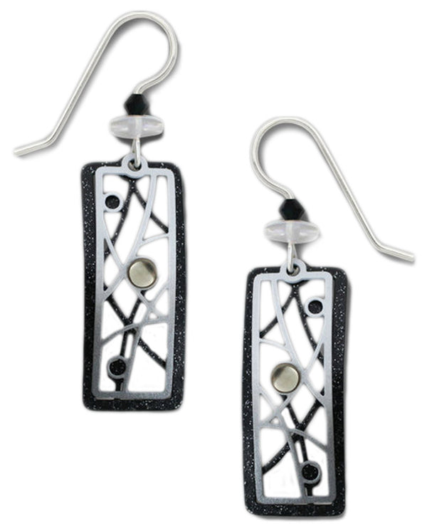 Adajio 7747 Rectangle Earrings