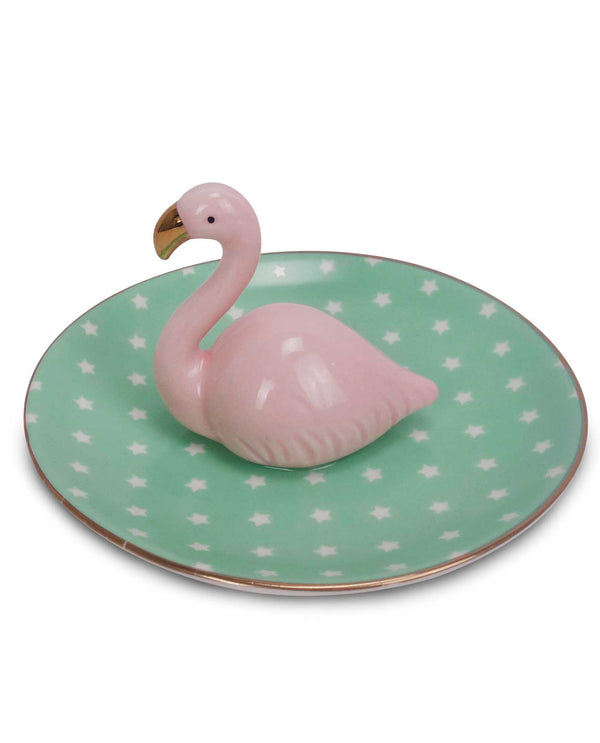 68085 Flamingo Ring Tray