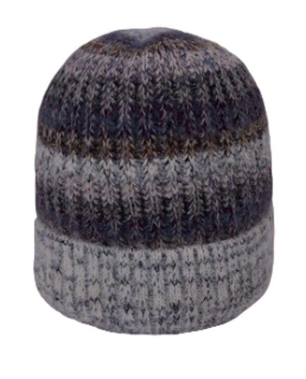 69281 Grey Giving Beanie Recycled Yarn
