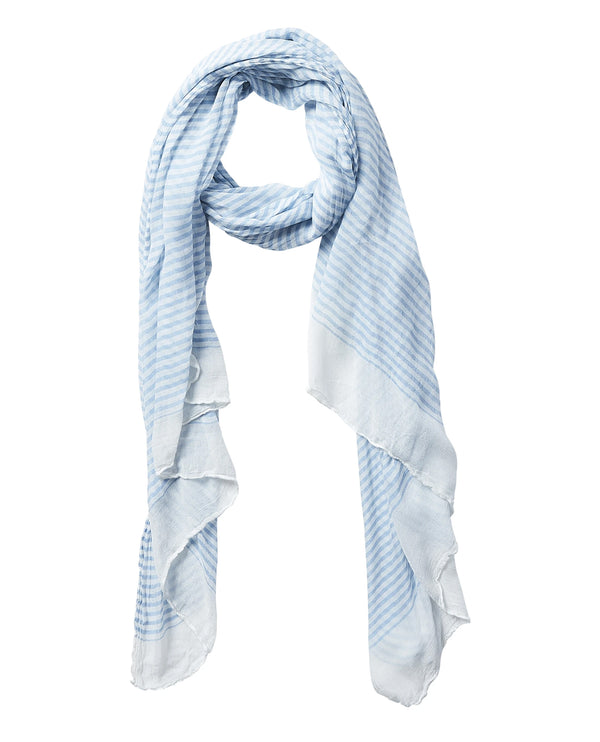 Insect Shield 810113 Blue Tiny Stripe Scarf