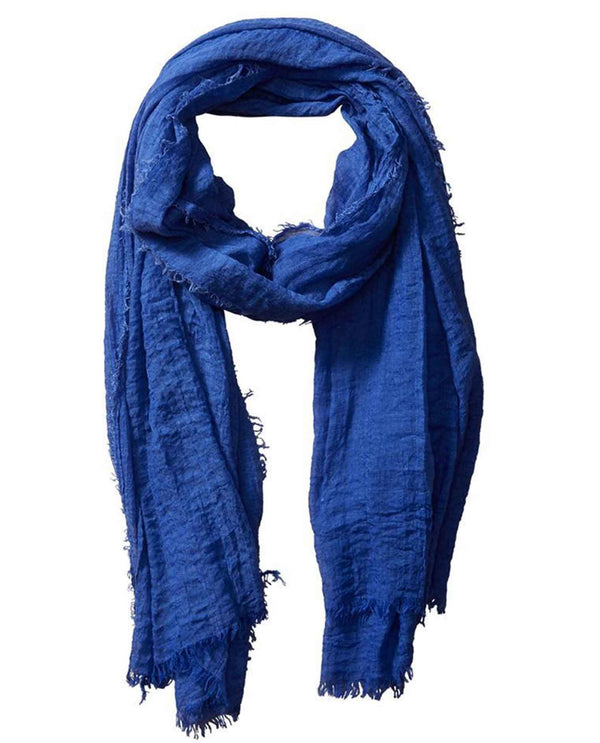 Tickled Pink Insect Shield 810114 Blue Classic Scarf lightweight summer scarf that repels insects