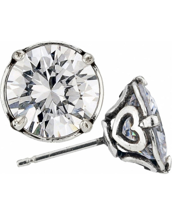 Brighton JE154D Brilliance 10MM Post Earrings