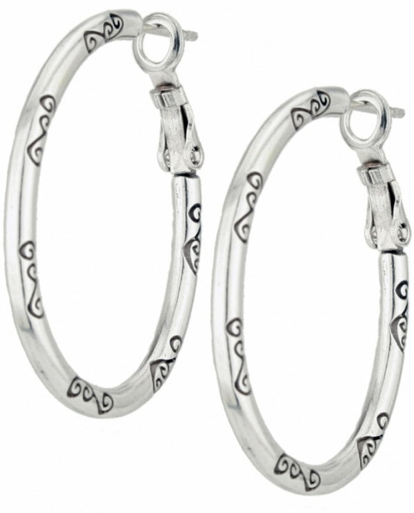 Brighton JE0020 Oval Charm Earring