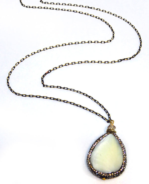 Carletta Mother Of Pearl Necklace