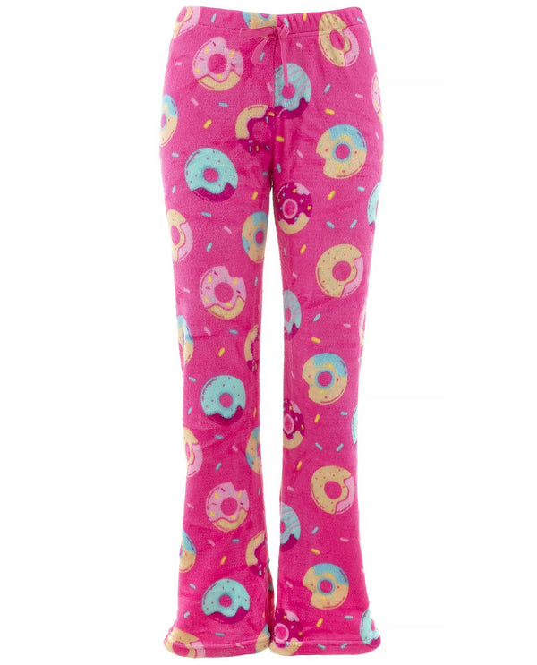 DNUT 90002LA Plush Juniors Pj Pants