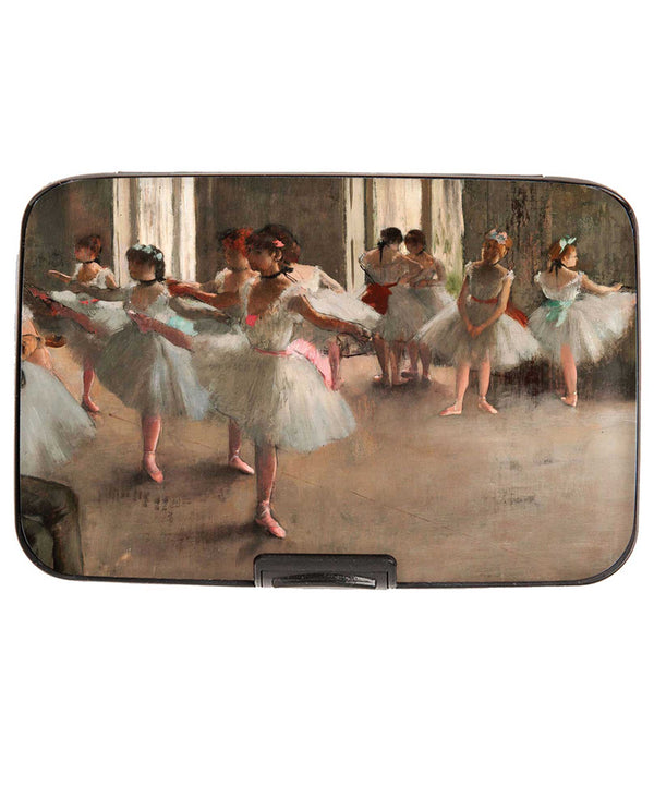 Armored Wallet 71899 Ballerina Degas Wallet RFID protected wallet with fine art print