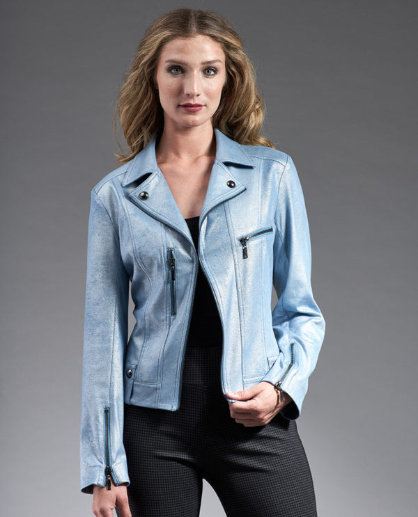 Insight NY BCJ8909g Metallic Liquid Ethereal Jacket