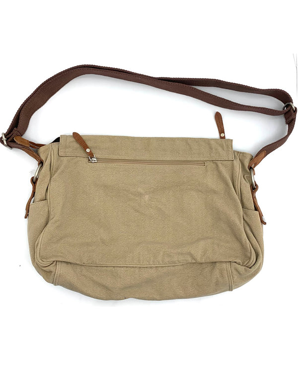 Latice Brief Bag Beige
