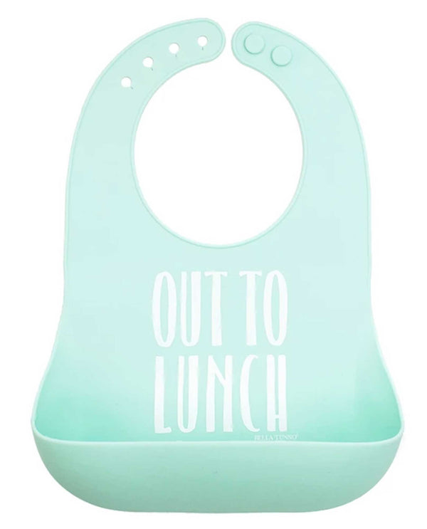 Bella Tunno WB109 Turquoise Out To Lunch Wonder Bib
