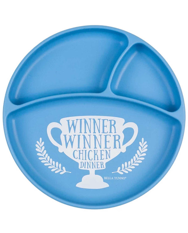 Bella Tunno WP18 Winner Winner Wonder Plate Blue