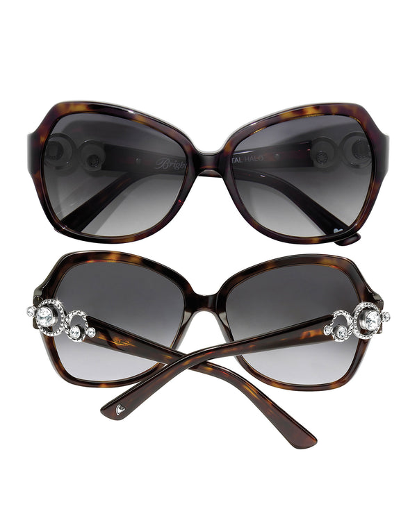 Brighton A12797 Crystal Halo Sunglasses tort