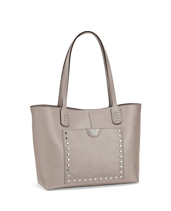 Brighton H3621Z Reed Soft Tote Zinc