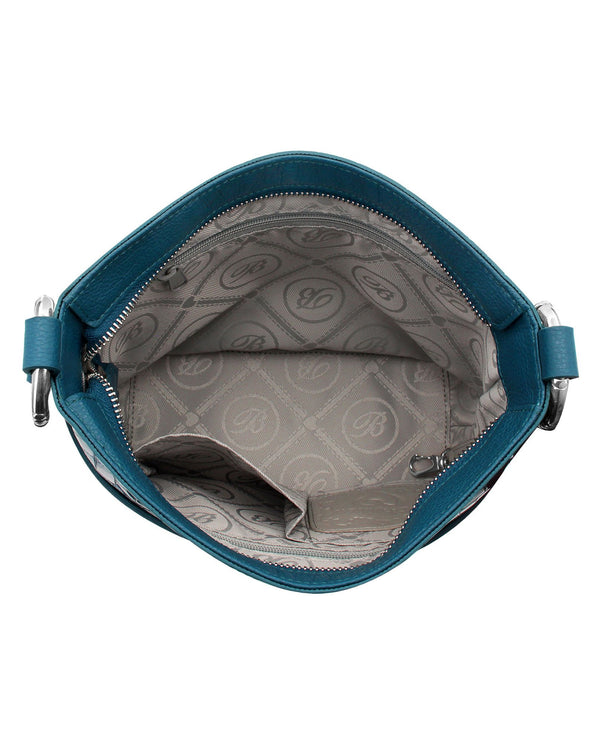 Brighton H3622K Cherie Shoulder Bag Peacock