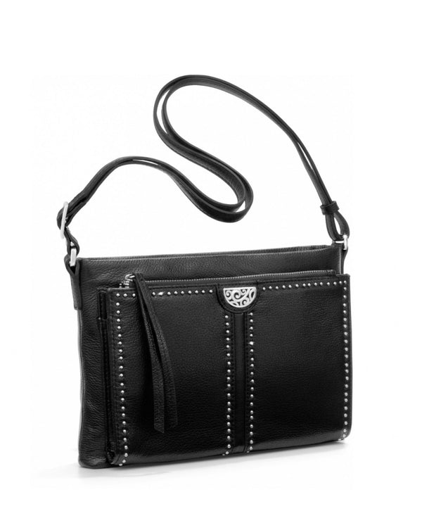 Brighton H42413 Jagger Cross-Body Organizer Black