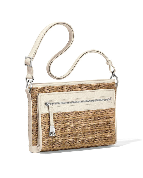 Brighton H72942 Brooklyn Straw Cross Body Organizer
