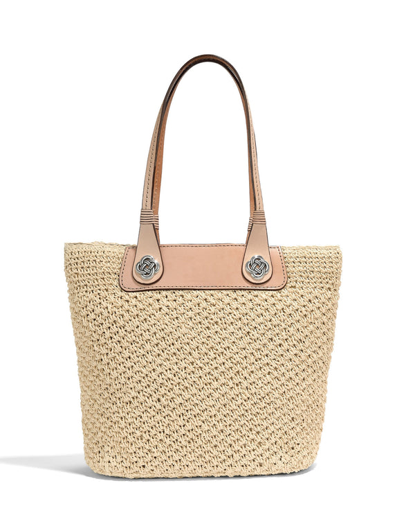 Brighton H73414 Lena Straw Tote Neutral