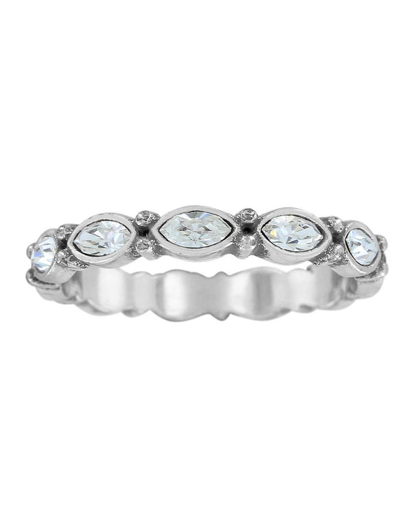 Brighton J6118K Scalloped Stack Ring Silver