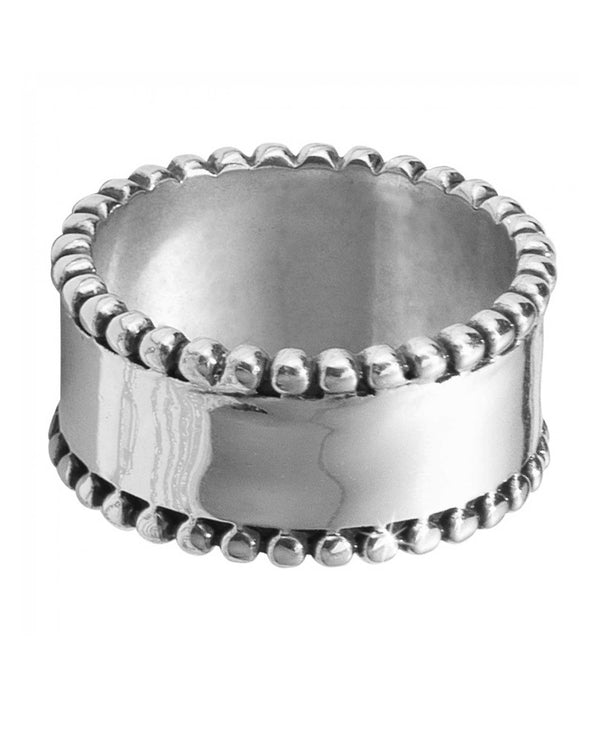Brighton J62500 Meridian Petite Band Ring Silver