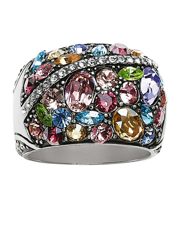 Brighton J62642 Trust Your Journey Multi Ring Silver