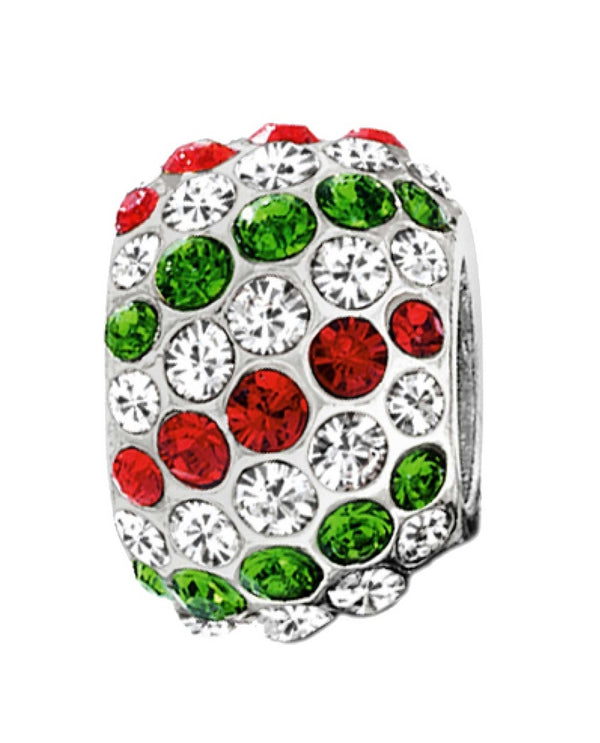 Brighton J9240H ABC Ice Diva Bead Christmas Swarovski crystal beads