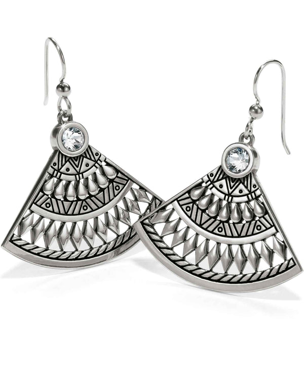 Brighton JA4491 Africa Stories Basket French Wire Earrings