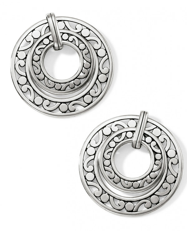 Brighton JA7290 Contempo Open Ring Duo Post Drop Earrings