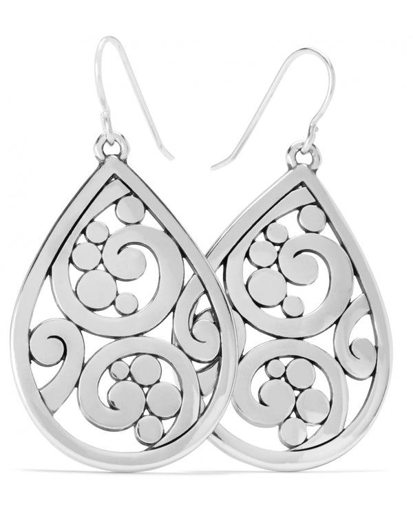 Brighton JA7300 Contempo Teardrop French Wire Earrings