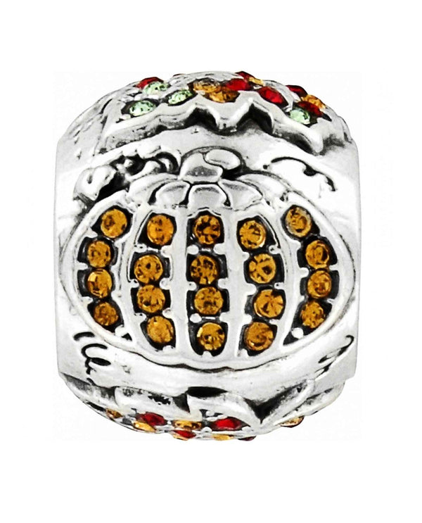 Brighton JC0272 Autumn Spirit Bead with Swarovski crystal pumpkin