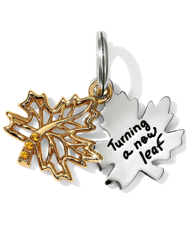 Brighton JC4552 New Leaf Charm maple leaf charm