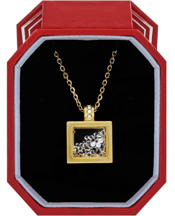Brighton JD1565 Meridian Zenith Shaker Necklace Gift Box gold shaker necklace