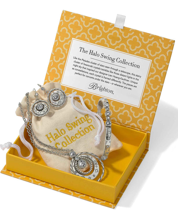 Brighton JD5293 The Halo Swing Collection three piece jewelry gift box