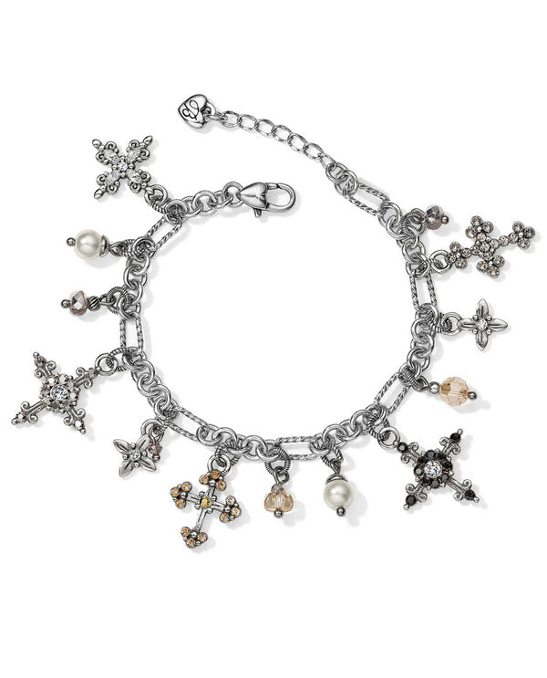 Brighton JF6983 Crosses Of The World Charm Bracelet
