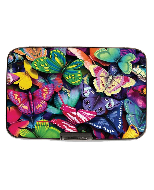 Butterfly Collage Wallet