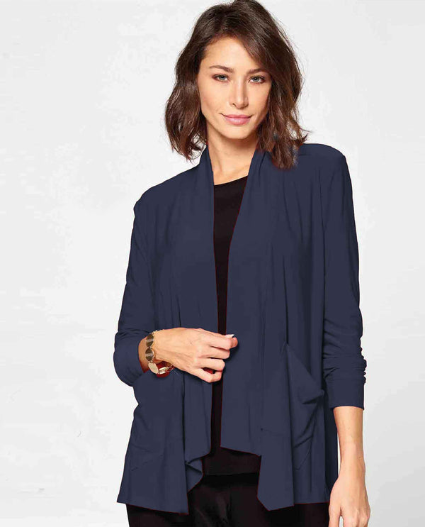 Navy By JJ IT-118 Cardigan