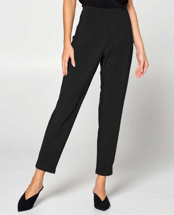 By JJ IT-129 S Relax Narrow Pant Black