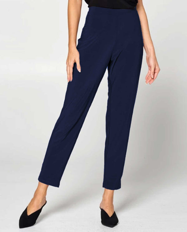By JJ IT-129 S Relax Narrow Pant Navy